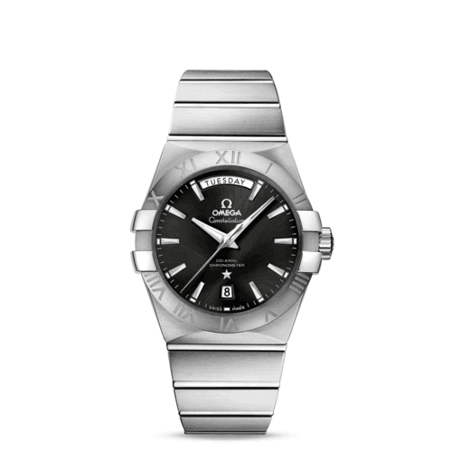 CONSTELLATION OMEGA CO‑AXIAL DAY‑DATE 38 MM 123.10.38.22.01.001