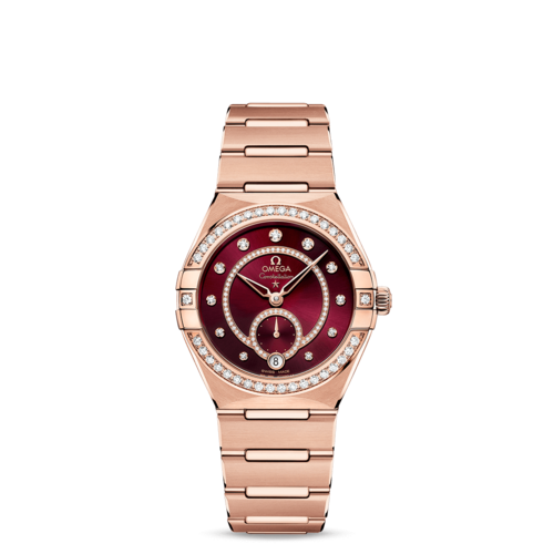 CONSTELLATION CO‑AXIAL MASTER CHRONOMETER SMALL SECONDS 34 MM 131.55.34.20.61.001